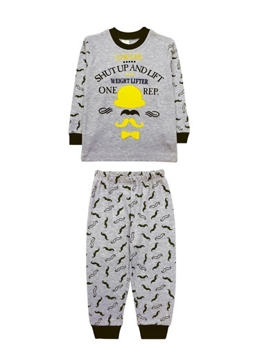 By Leyal For Kids Pijama Takım Sarı
